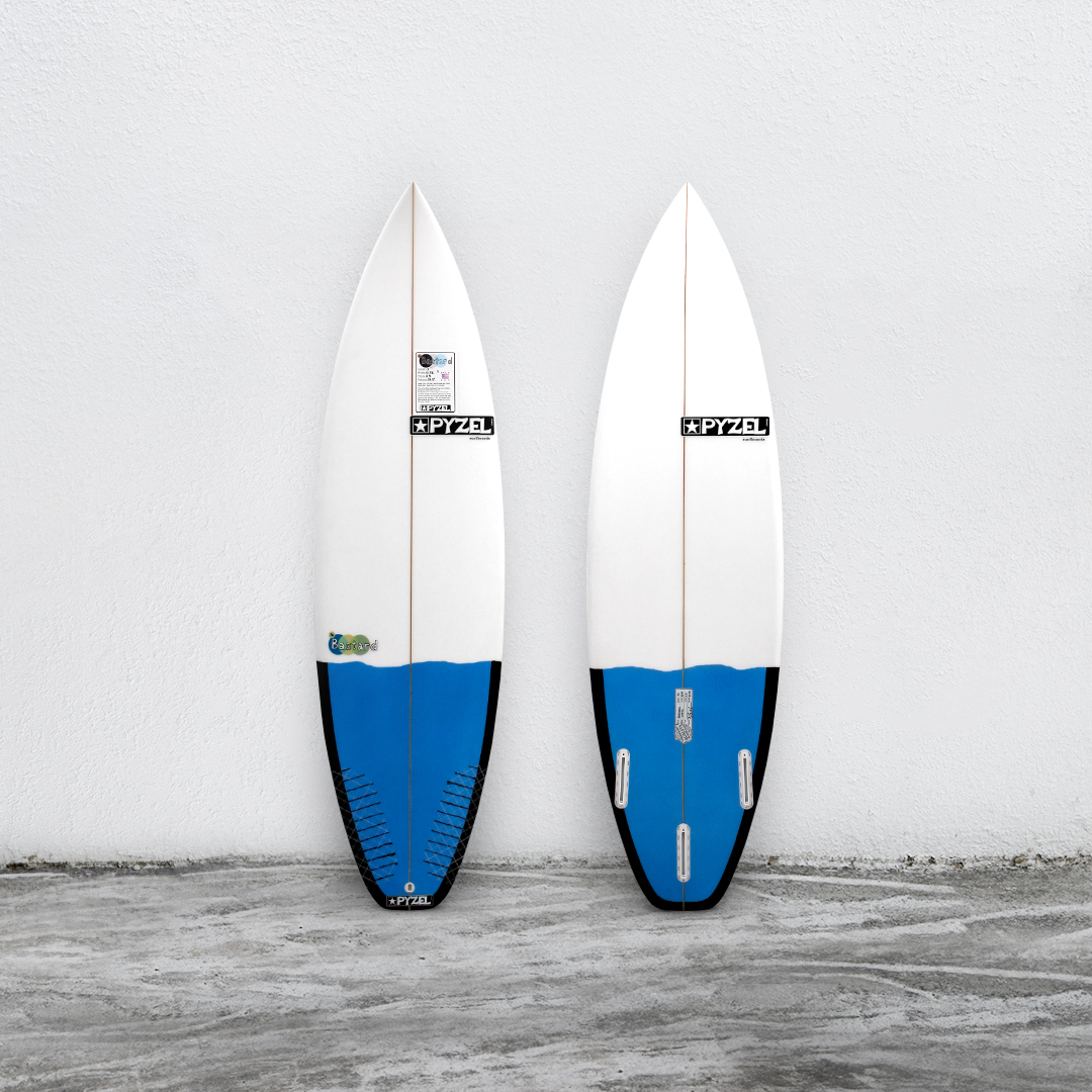 "Bastard 5'11"" White/Blue"