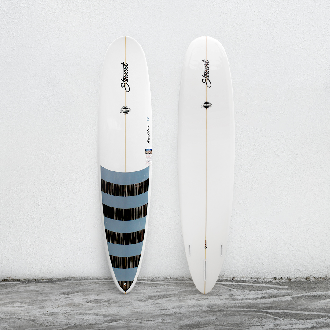 "Redline 11 9'0"" White/BlueBlackStripes/White"