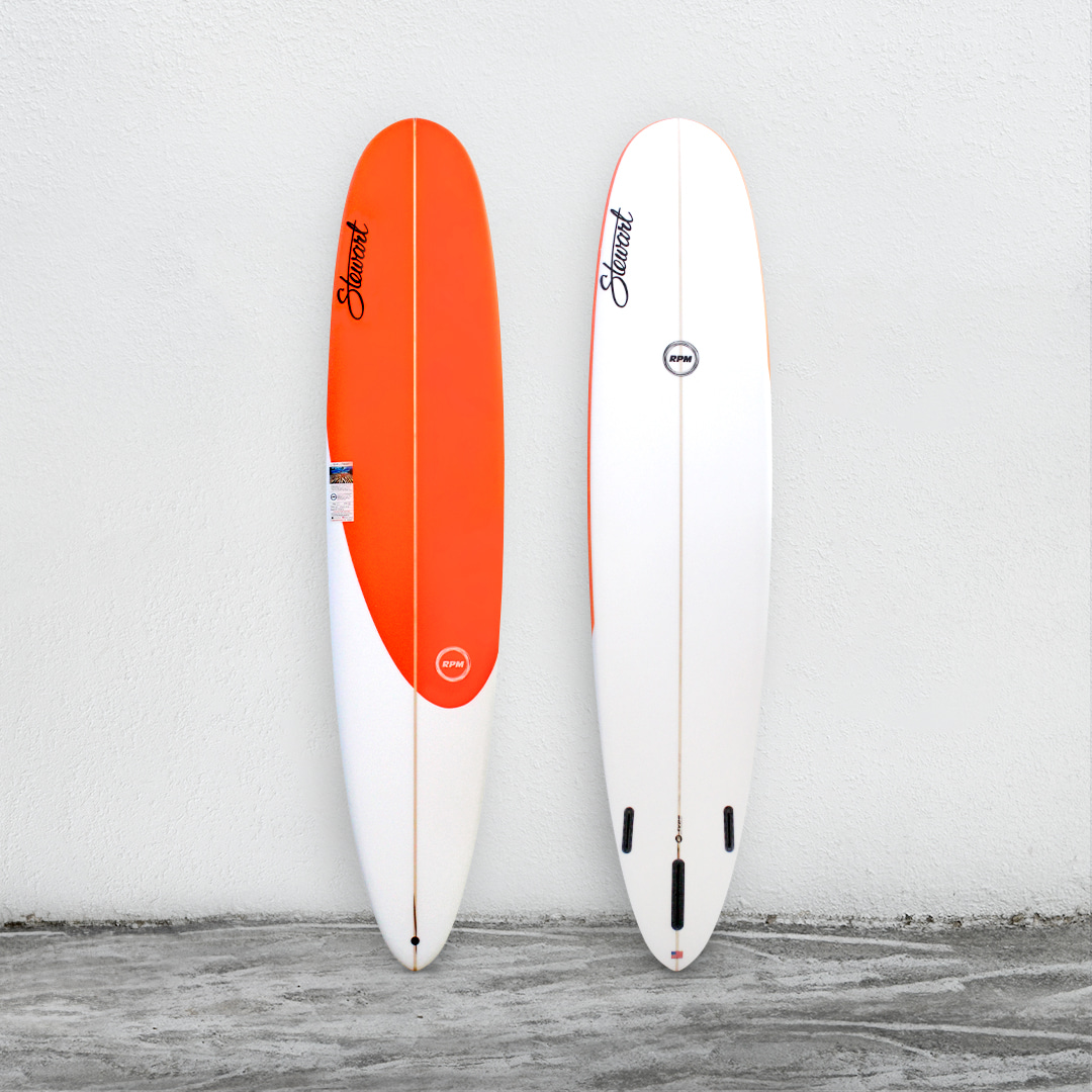 "RPM 9'0"" NeonOrange/White"