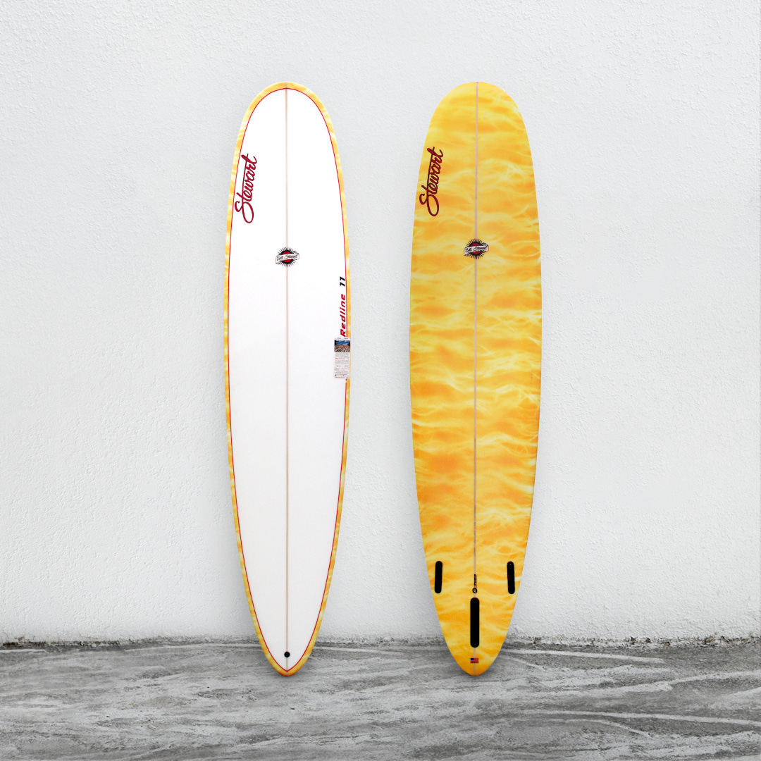"Redline 11 9'0"" White/Yellow/Gold"