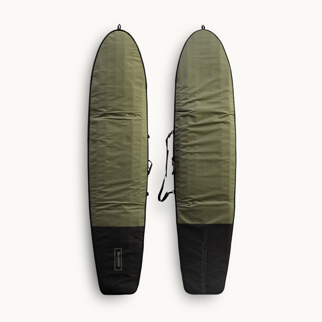 "2017 RAMPAGE Surfboard Bag 9'2""~9'6"" Khaki/Black"