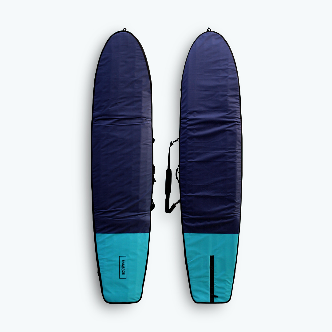 "2017 RAMPAGE Surfboard Bag 9'2""~9'6"" Navy/Mint"