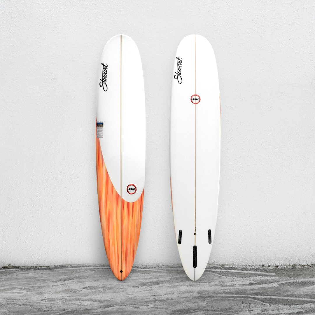 "RPM 9'0"" White/LightOrange/White"