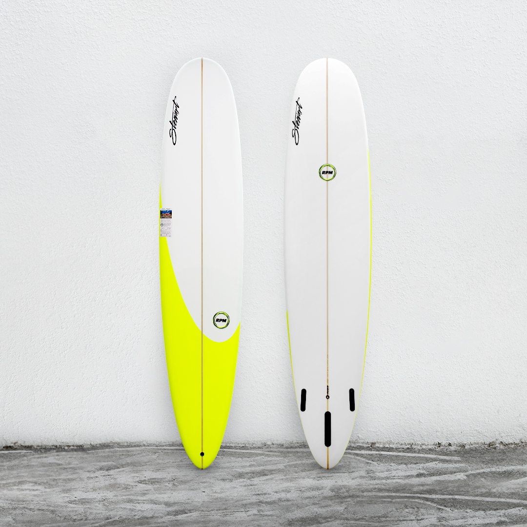 "RPM 9'0"" White/YellowLime/White"
