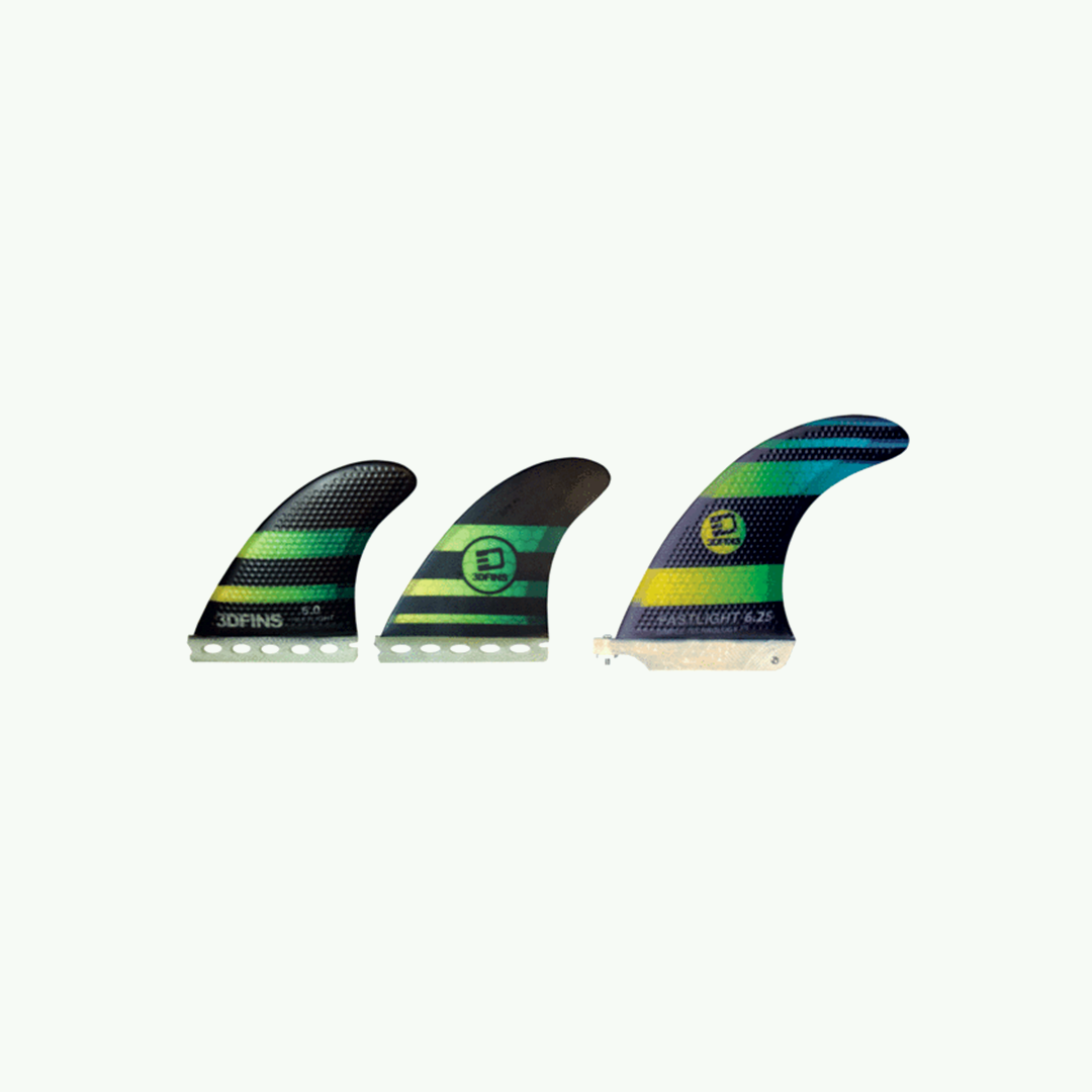 "FASTLIGHT - Longboard Fin Set 6.25"" (for futures.)"