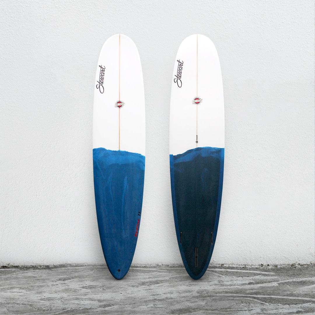 "Redline 11 9'0"" White/FrenchblueBrush"