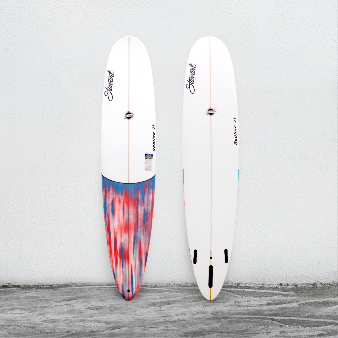 "Redline 11 9'0"" White/BlueWhitePinkBrush/White"
