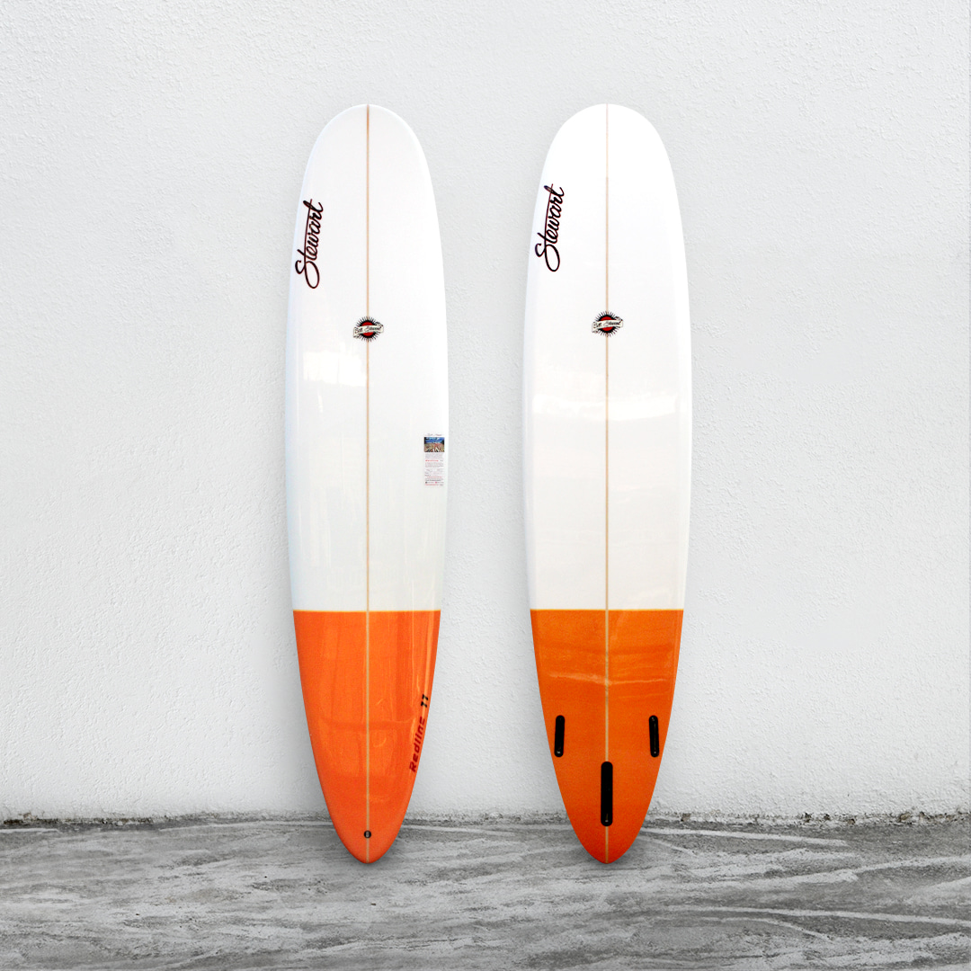 "Redline 11 9'0"" White/Orange"