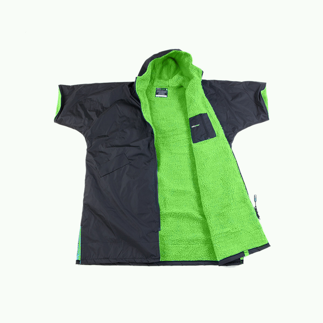 Advance Short Sleeve (Black/Green)