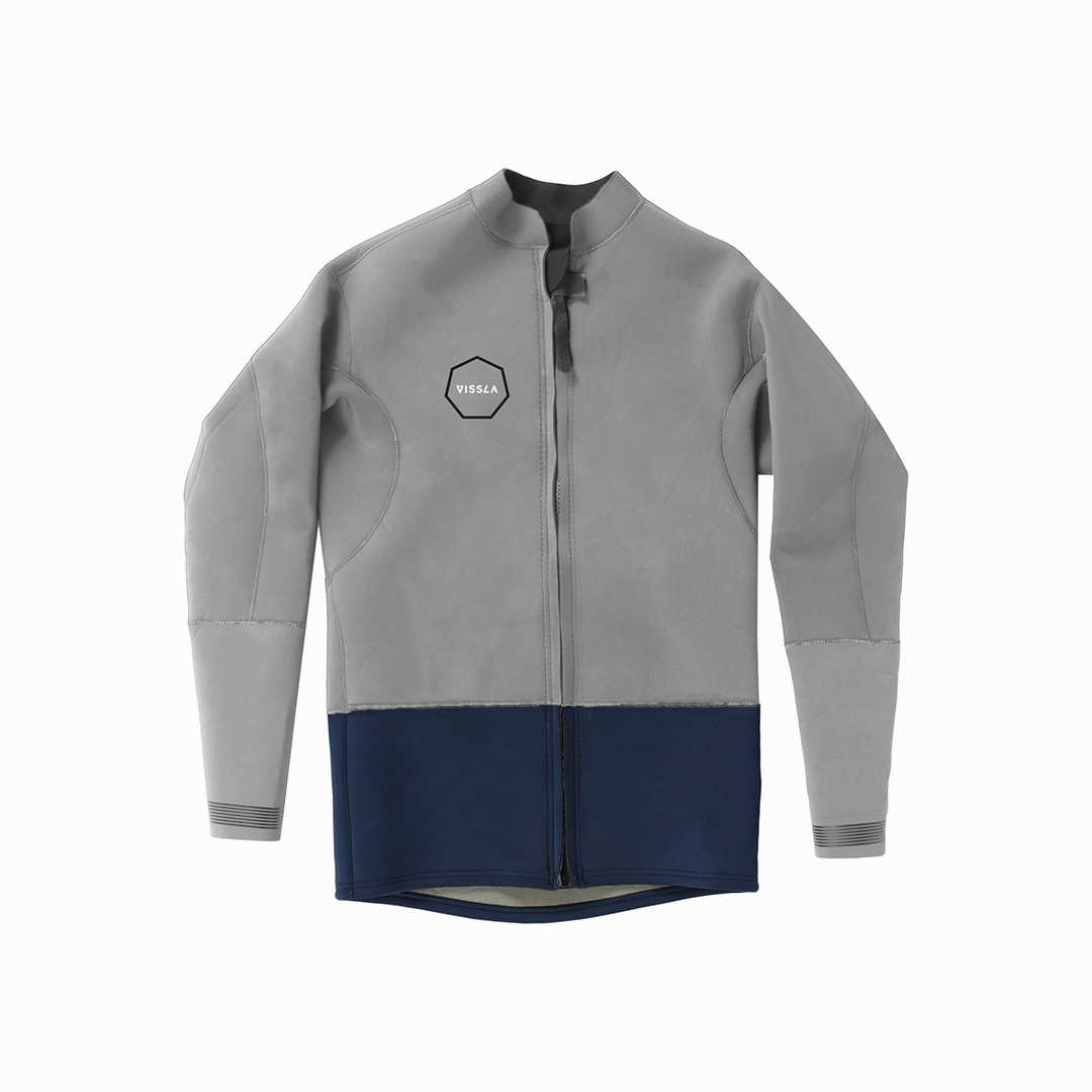 2mm Front Zip Jacket (Naval)