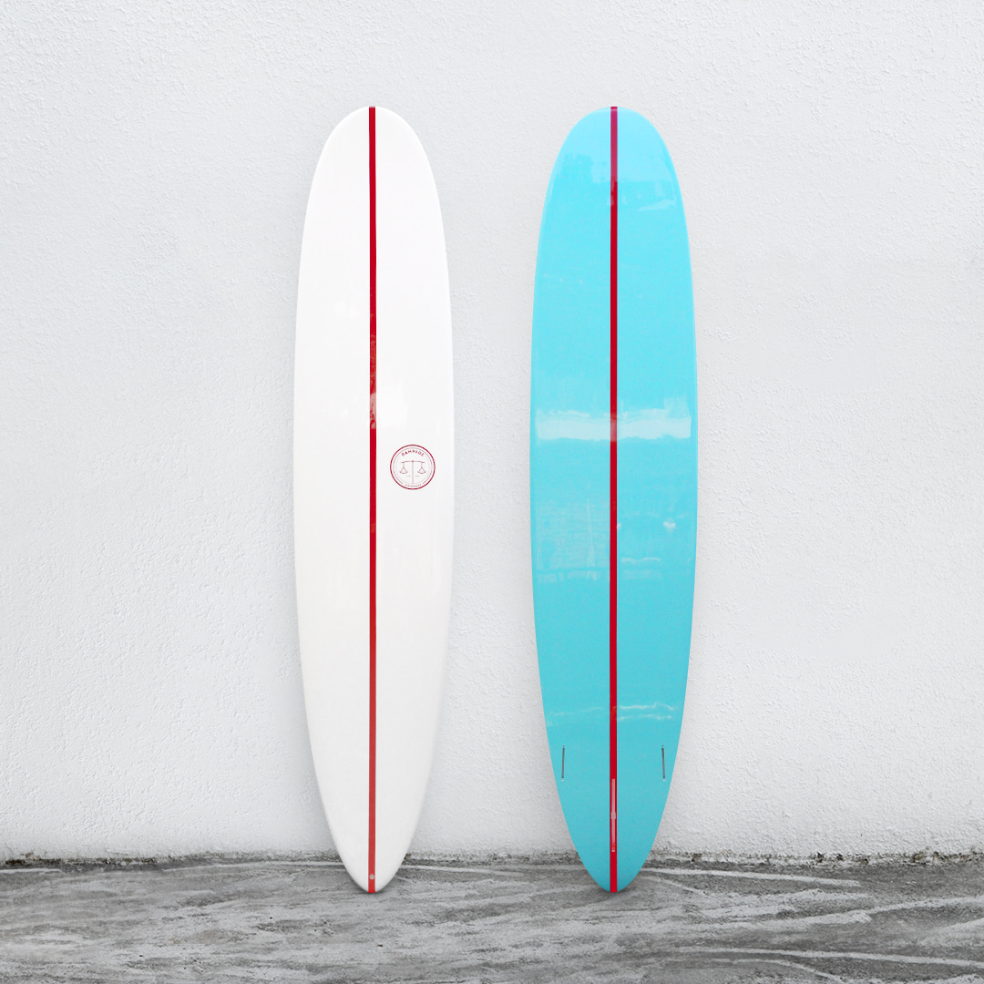 "RAMPAGE 9'2"" White/Aqua&Cherry"