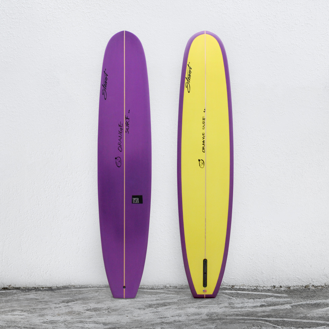 "TIPSTER 9'4"" DeepLavender/Lemon (Orange Custom)"