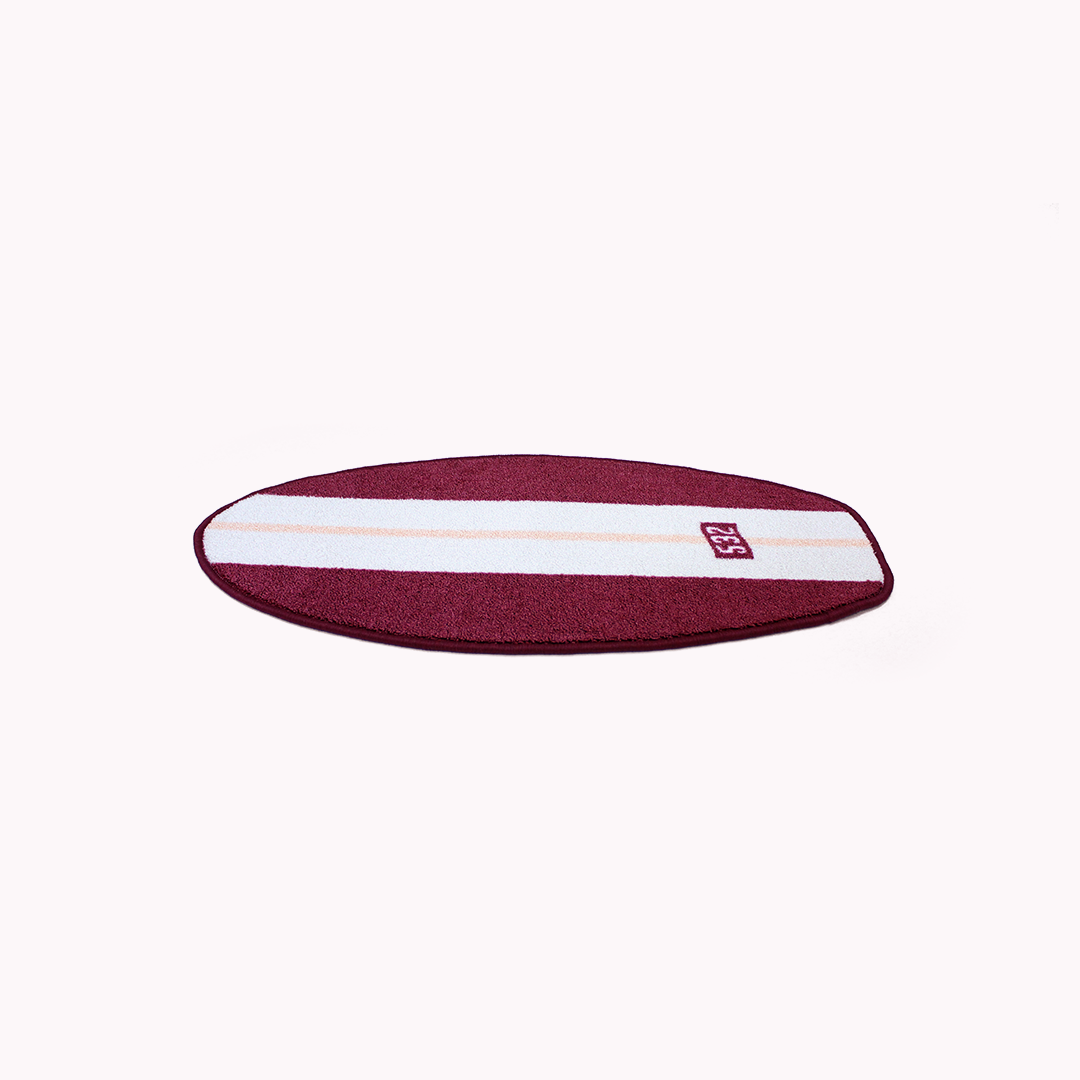 Short Rugboard - Burgundy