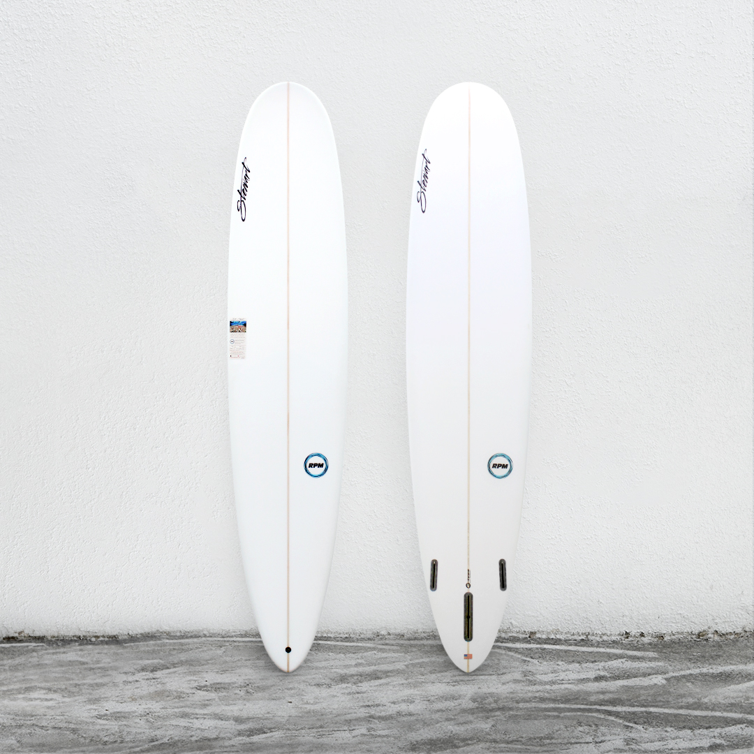 "RPM 9'0"" White (BlueLogo)"