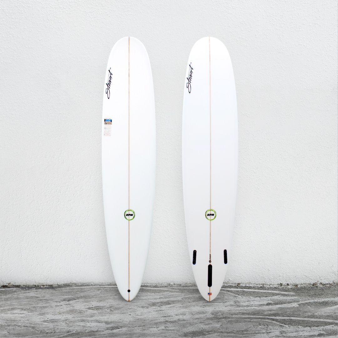 "RPM 9'0"" White (GreenLogo)"