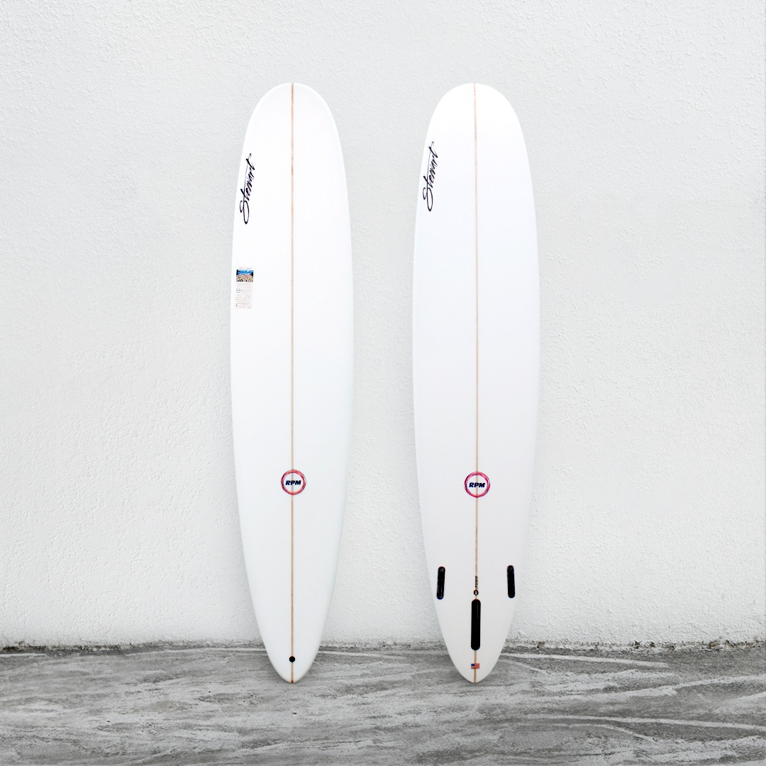 "RPM 9'0"" White (NeonOrangeLogo)"